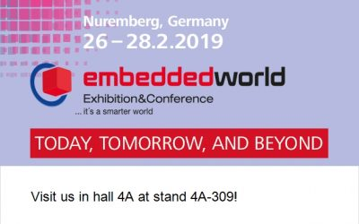 Join us at embedded world 2019